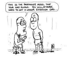pacemaker cartoon humor: 'It monitors your life signs