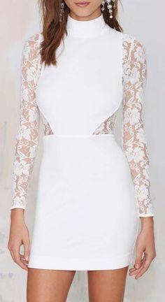 Danica Lace Dress - Ivory