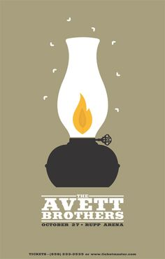 The Avett Brothers Poster...simple
