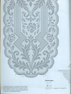 Kira scheme crochet: Scheme crochet no. 1657