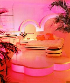 (One of ) My DREAM bedroom(s)... 80's-does-30's Art Deco set-up from an 80's Bloomingdale's catalog. Between this and Guy Bourdin's epic 'Sighs & Whispers' I'm of the belief old Bloomies catalogs may have been some of the best art and design of the past 50 years.