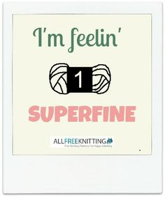 I'm feeling superfine, how about you? #yarn #humor