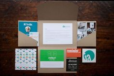 Photography Welcome Packet Inspiration - Branding Blue, Green, Orange // Modern, Spunky