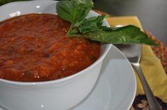Rustic Tomato Soup  mywholefoodlife.com