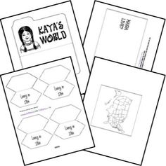 Free American Girl Lapbook Templates