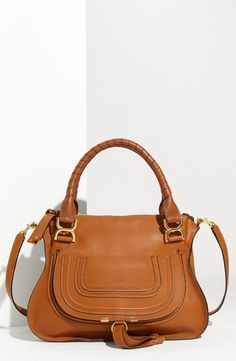 This Chloé leather satchel is on the wish list.