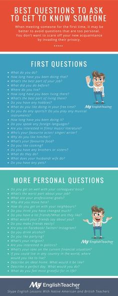 BEST QUESTIONS TO ASK TO GET TO KNOW SOMEONE