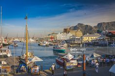 Victoria & Alfred Waterfront in Cape Town | Western Cape, South Africa | #stockphotos #gettyimages #print #travel