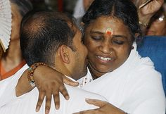 I've waited for hours to get a hug from Amma, and it was worth it.  Her gift of healing love.
