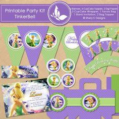 Free Printable Party Kit | TinkerBell