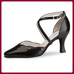 Su/éde Noir Werner Kern Femmes Chaussures de Danse Tabea 4,5 cm