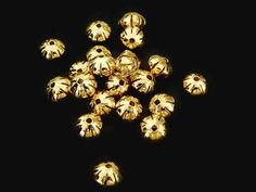 BORCO Bola ovalada ranurada en chapa de oro 14k, diámetros 8 y 10mm, ideal para bisutería fina, precio x gramo $4.20 pesos, precio medio mayoreo (100 gramos)$4, precio mayoreo (250 gramos)$3.90, precio VIP(500 gramos) $3.80 (2 piezas x gramo)