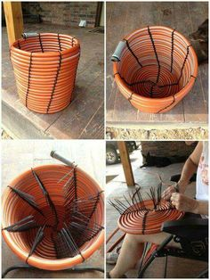 Amazing Tyre rubber chair looks quite fortable Recycled Tyre Ideas Pinterest Chairs