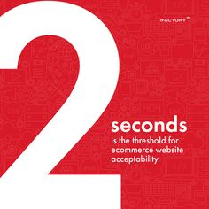 2 seconds is the threshold for ecommerce website acceptability. Other People, Ecommerce, Website, Feelings, E Commerce