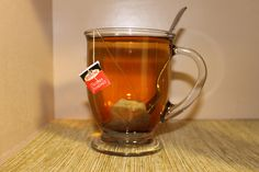 A nice cup of Red Rose English Breakfast tea :)