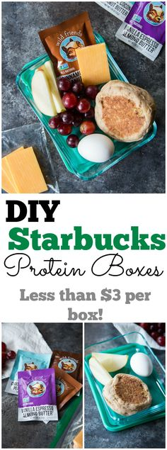 Save money, eat healthy, and get a filling breakfast that last you until lunch! These DIY Starbucks protein boxes can be prepped ahead for your whole week's breakfast, saving you those precious morning minutes. Being from Seattle, I'm as much a fan of Starbucks as the next hippie, rain loving, half caff, no foam, one-pump-of-sugar-free-vanilla, …