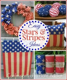 CONFESSIONS OF A PLATE ADDICT Country Living Inspired Vintage Firecracker Favors