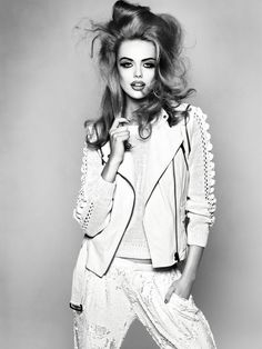 Makeup Your Mind | Frida Gustavsson | Andreas Sjodin #photography  | Elle Sweden February 2012