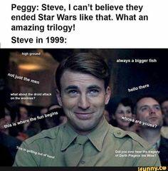 Steve Rogers Going Through History Memes Are Still Spicing Up The Timeline - Memebase - Funny Memes Funny Marvel Memes, Dc Memes, Avengers Memes, Marvel Jokes, Marvel Avengers, Funny Memes, Funny Pics, Infinity War, Starwars