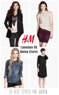 HM Launches US Online Store! 25 Best Styles for Women