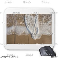 Mouse Pad with image of the sea washing out on to the beach New Employee, Custom Mouse Pads, Marketing Materials, Sea, Canning, Create, Image, Design