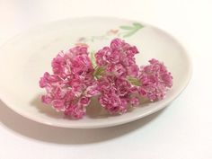 50 Mini Pink Gypso Gypsophila Mulberry Paper Flowers Wedding Card Scrapbook Love #Handmade