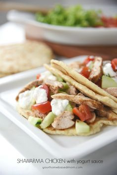 Shawarma Chicken wit