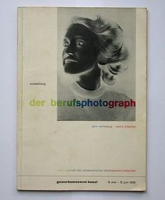 georg schmidt:  der berufsphotograph    gewerbemuseum basel, 1938  size: 21 x 15 cm  photographer: robert spreng  designer: jan tschichold