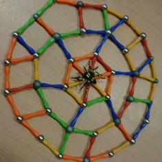Constructie magnetix herfst spin