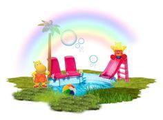 """Grabit Tasha - Fun in the sun!"" by hokie-engineer-grl ❤ liked on Polyvore featuring art, contestentry, tasha and GrabIt"
