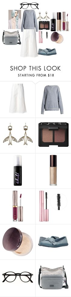 """""""Untitled #370"""" by feralkind ❤ liked on Polyvore featuring Alexander McQueen, R13, Valentino, NARS Cosmetics, Urban Decay, Becca, Too Faced Cosmetics, Laura Mercier, Rocket Dog and Sakroots"""