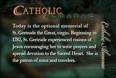 #SaintGertrudetheGreat #prayforus