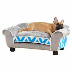 Ashley Pet Bed in Blue  on Joss and Main.