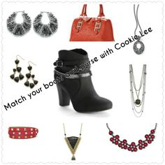 Match your boots and purses with Cookie Lee Jewelry