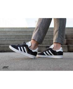 cheaper 629e1 d5839 Adidas Gazelle W Utility Black Ftwr White Gold Metallic Shoes