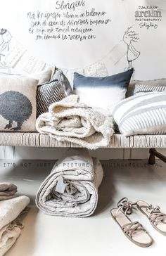 Love the neutrals - can make a small room/area look bigger. © Paulina Arcklin | SUKHA AMSTERDAM www.sukha-amsterdam.nl