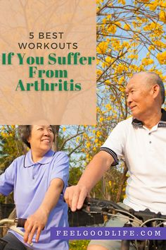 5 Best Workouts If You Suffer From Arthritis | Feel Good Life Knee Pain Relief, Arthritis Pain Relief, Arthritis Treatment, Bodyweight Strength Training, Endurance Training, Gentle Workout, Isometric Exercises, Muscle Pain, Fun Workouts