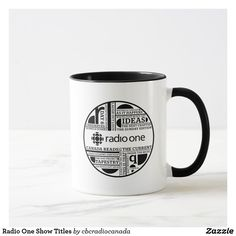 Radio One Show Titles Mug