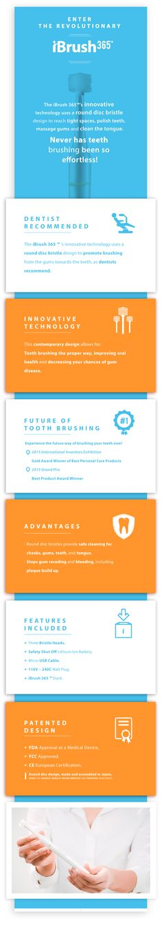 Introducing The ultimate brush for healty teeth. kck.st/1UdgXVi