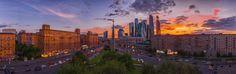 Untitled - Закат над Москва Сити