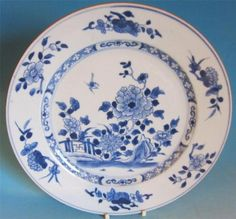 Good Antique Chinese Porcelain Plate CA 1730 | eBay