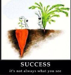 Le succès, n'est pas forcément ce que vous voyez... https://www.facebook.com/coachingdvp