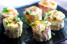 Kebab v rúre - Báječné recepty Creative Food, Food Art, Ham, Sushi, Tiramisu, Stuffed Mushrooms, Smoothie, Appetizers, Cooking Recipes