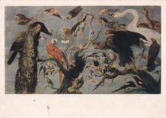 Vintage Snyders Bird concert Postcard  1955. от RussianSoulVintage