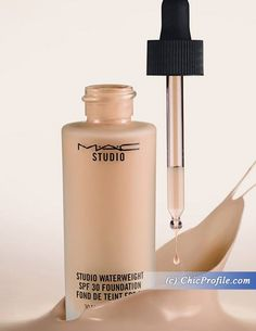 MAC Studio Waterweight Foundation SPF 30 launching September 2015 - a MAC dupe for Dior Nude Air Serum foundation? #makeup