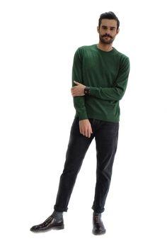 Πλεκτή Μπλούζα με Λαιμόκοψη • Rooks 46b95eb5ce3