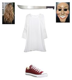 """""""The purge Halloween"""" by kenzsteags on Polyvore featuring Hawke, Relaxfeel and Converse"""