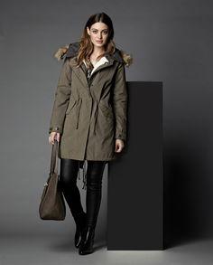 RW&CO. | Coat Check | Parka coat with detachable hood and lining | Fall 2015