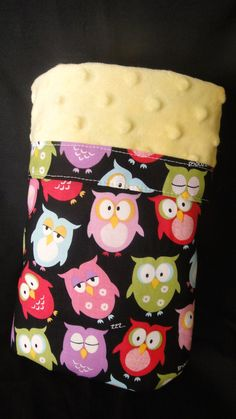 Minky Blanket Owls - Sydnee would LOVE this!