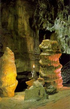 Howe Caverns in Prattsville, NY